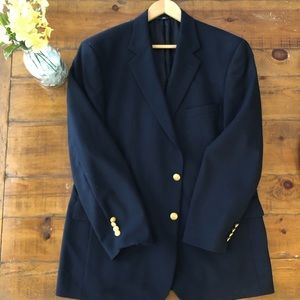 Brooks Brothers Navy Blazer